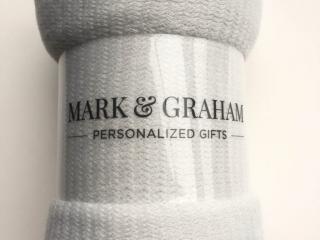 Mark & Graham blanket rolled up