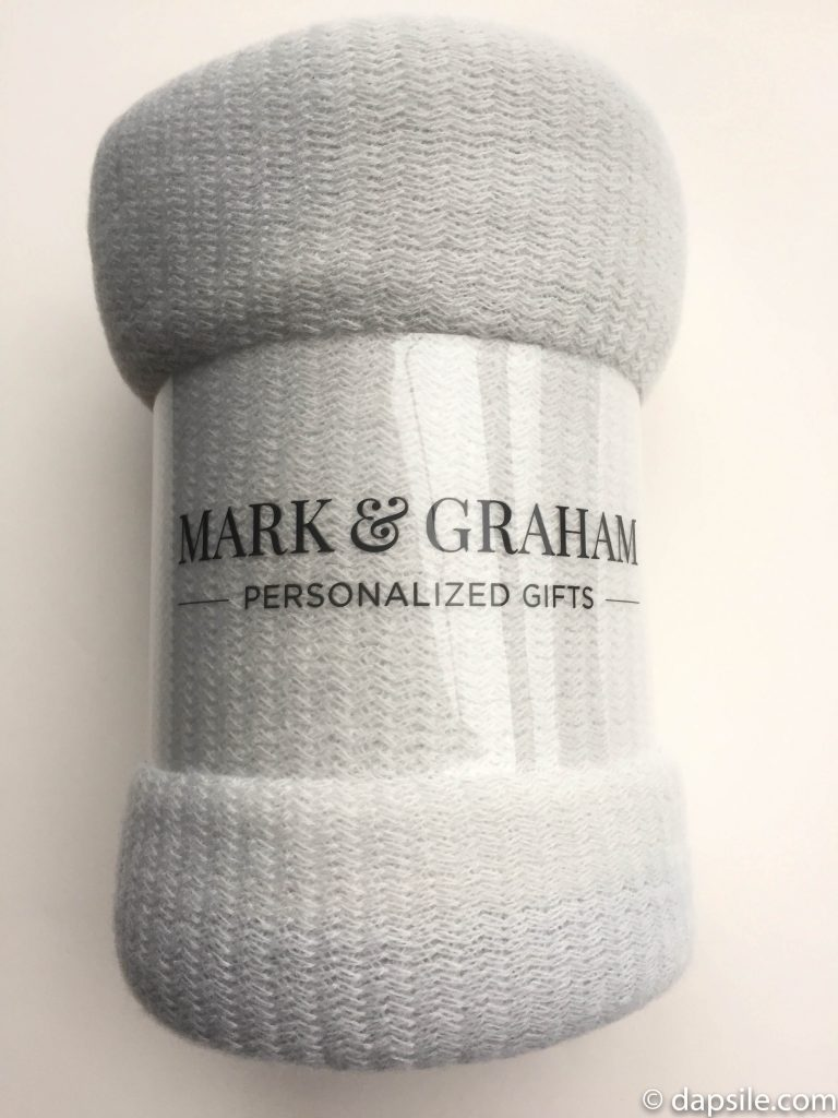 Mark & Graham blanket rolled up