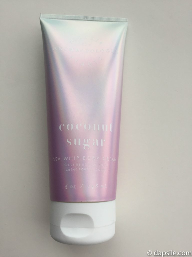MerISea Anthropologie Coconut Sugar Sea Whip Body Cream