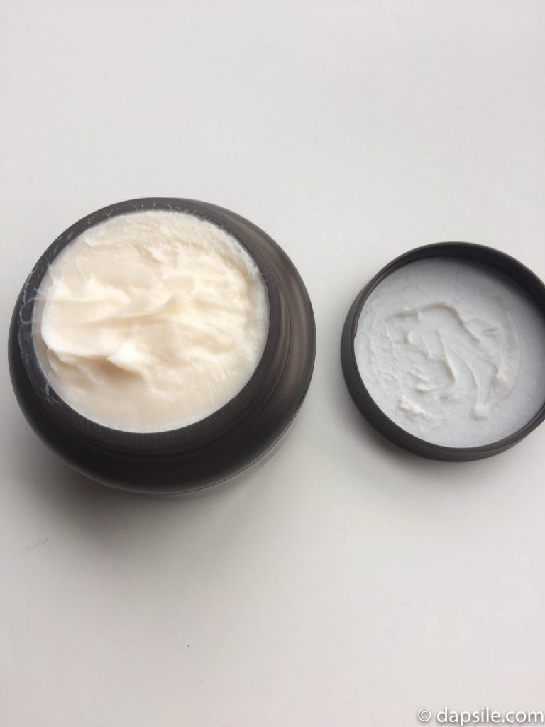 Moroccan Gold Series Hair Mask open in jar