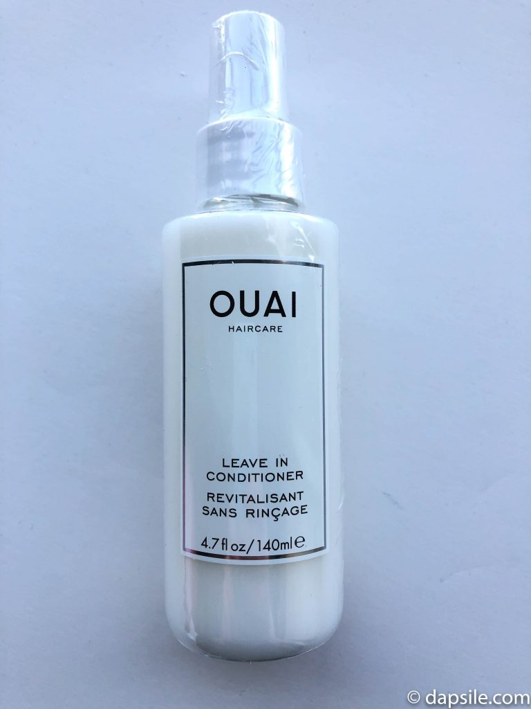 Bottle of Ouai Leave In Conditioner