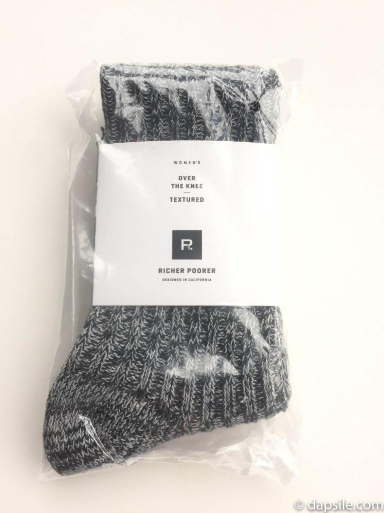 Richer Poorer Over the Knee Textured Socks