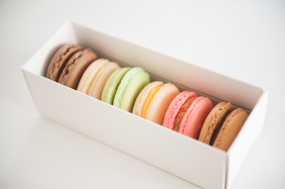 Macarons in a box from Mon Paris