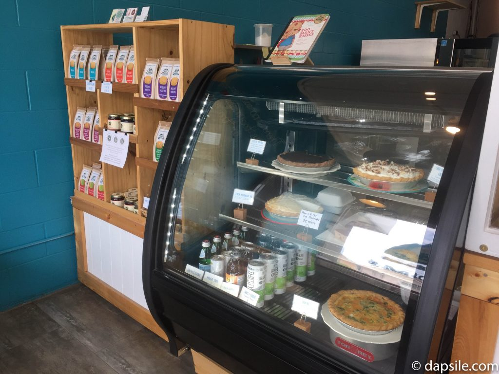 Packaged Shortbread and Chilled Treat Displays in Half Baked Cookie Company