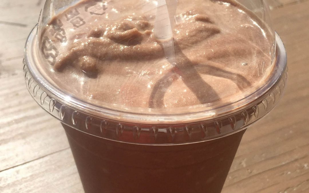 Blended Iced Chocolate Drink