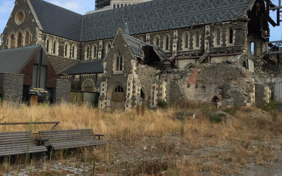 Christchurch Cathedral from side