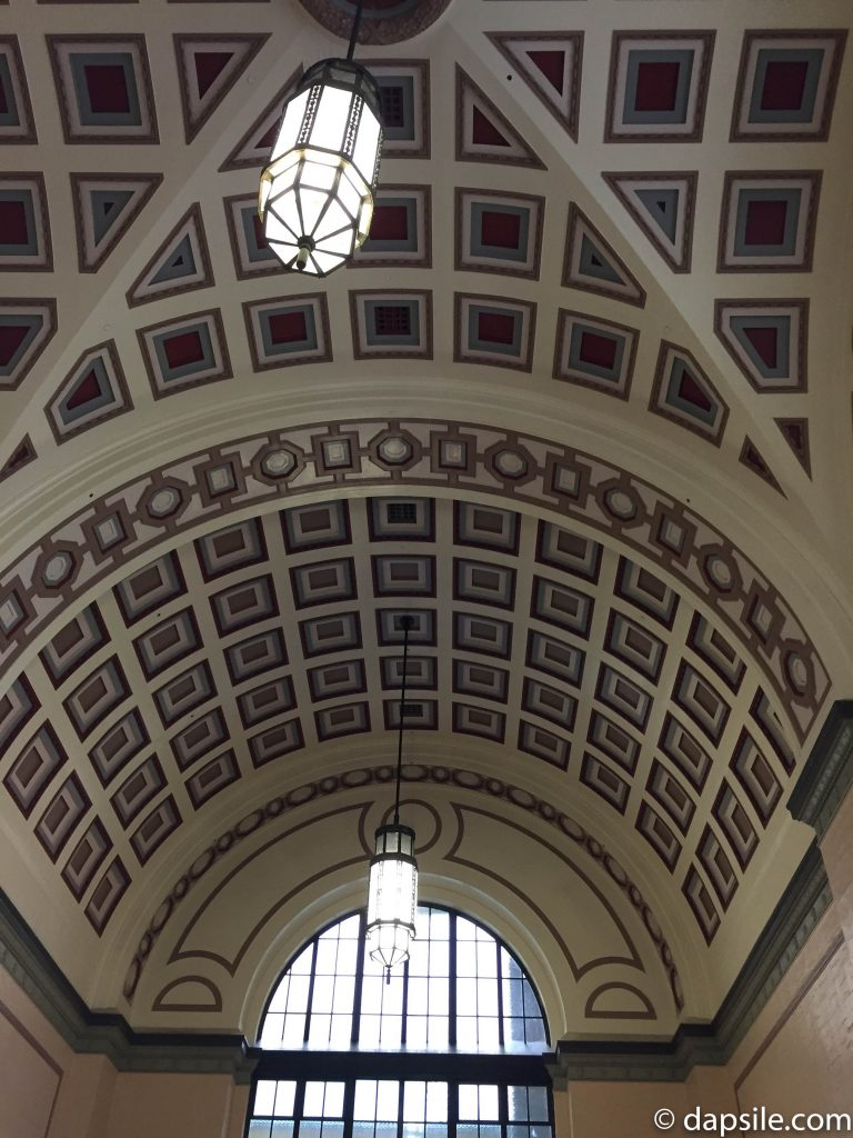 Ceiling of Historic Wellington Train Station