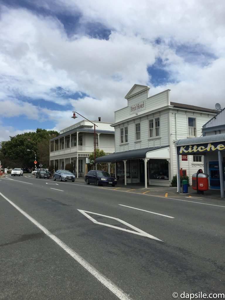 Shops on Martinborough's Kitchener Street