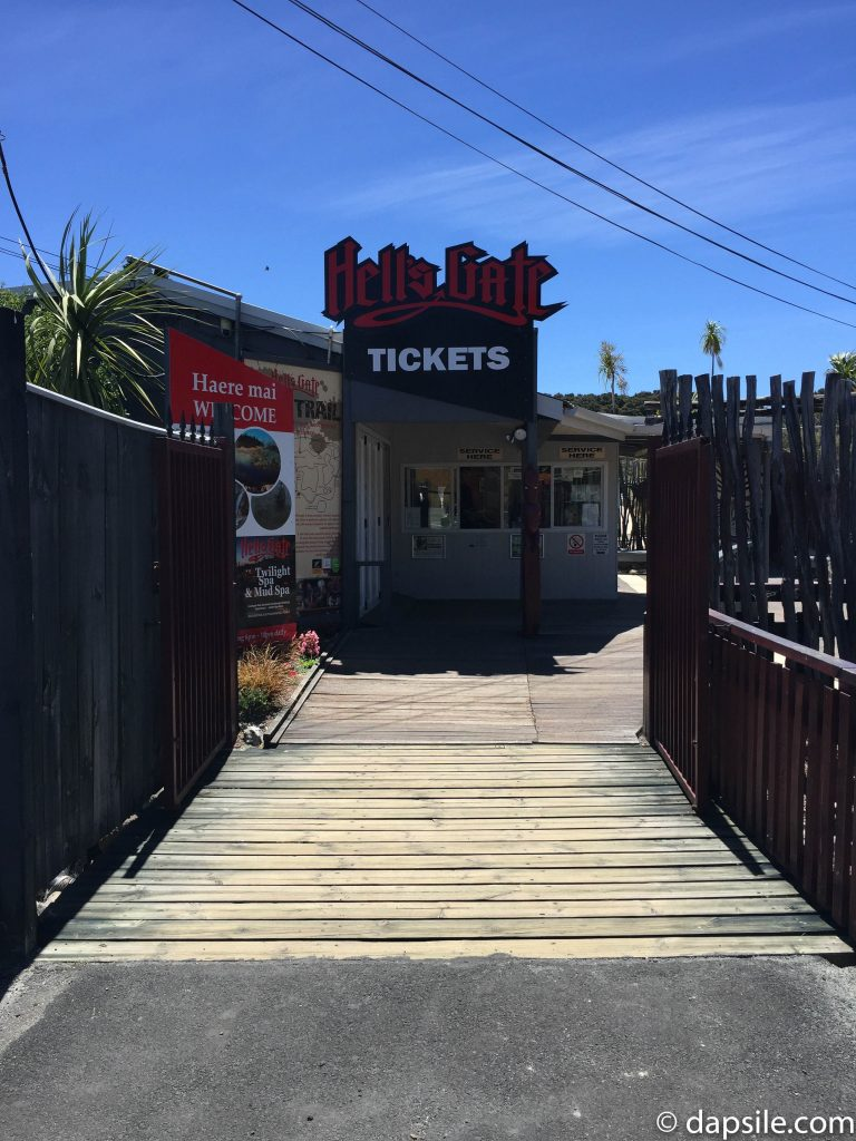 Hell's Gate Ticket Booth