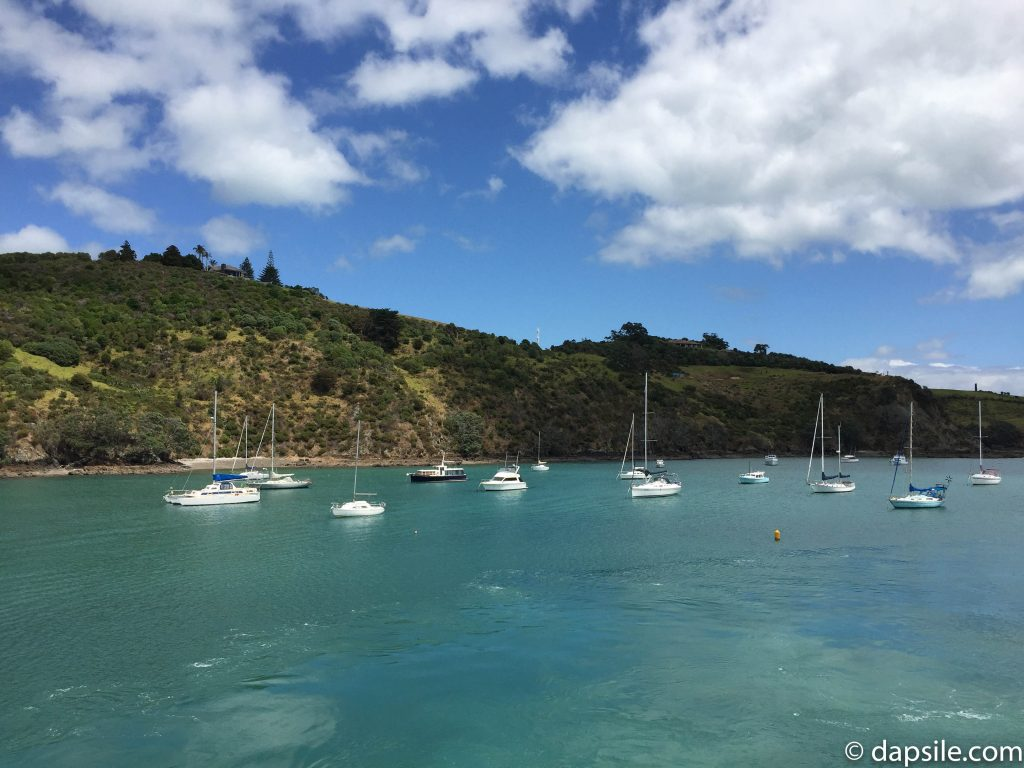 Boats in the Water at Waiheke Island