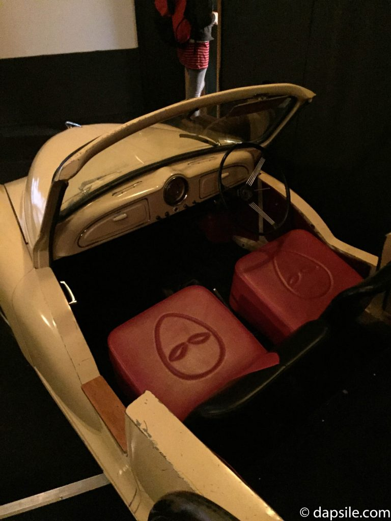 Cinema Paradiso Seats in a Car