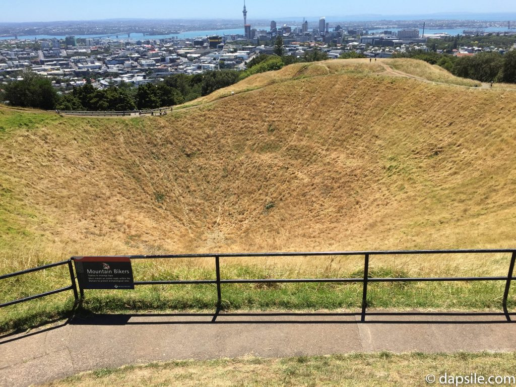 City of Auckland Volcano Crater