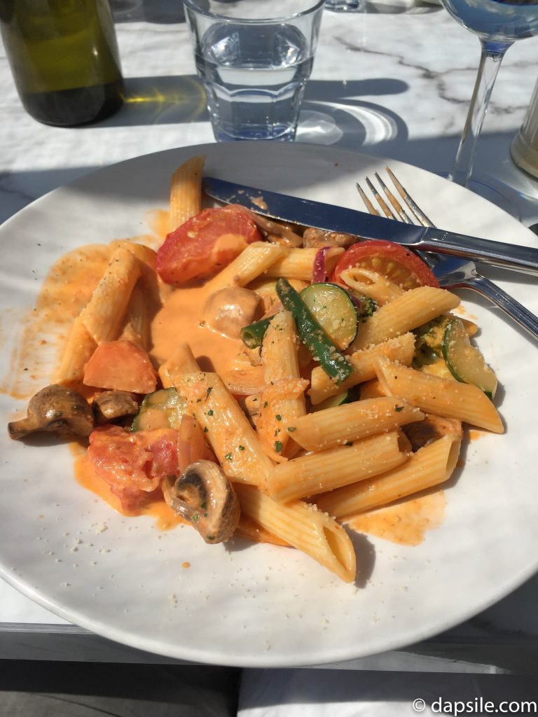 My Pasta Lunch at Vino Vino on Waiheke Island