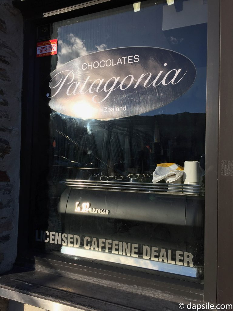 Patagonia Chocolates Shop Window