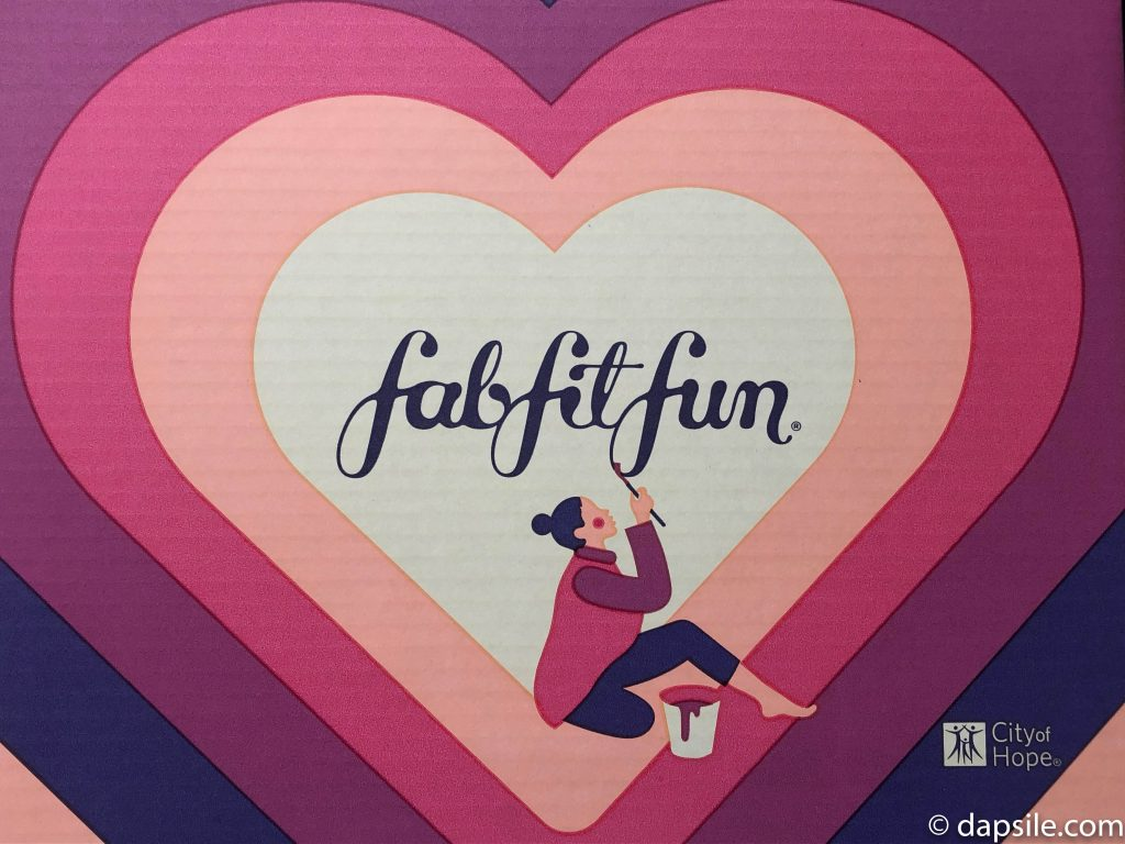 FabFitFun Fall 2019 Heart on Box